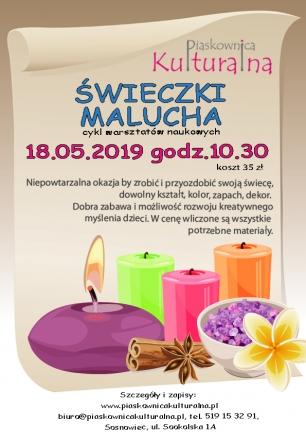 Świeczki Malucha, 18.05.2019