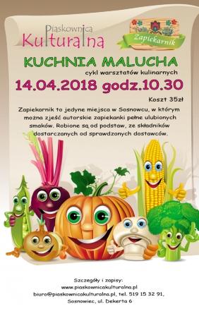 Kuchnia Malucha z Zapiekarnikiem, 14.04.2018