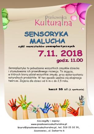 Sensoryka malucha, 7.11.2018