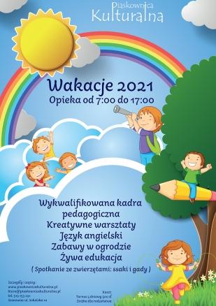 Wakacje w Piaskownicy Kulturalnej, lipiec/sierpień 2021