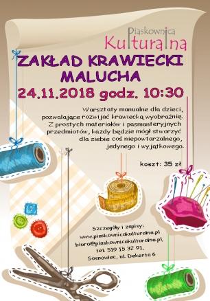 Zakład Krawiecki Malucha, 24.11.2018