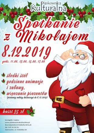 Spotkanie ze św. Mikołajem, 8.12.2019