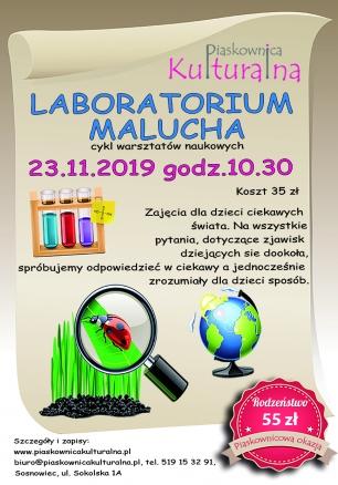 Laboratorium Malucha, 23.11.2019